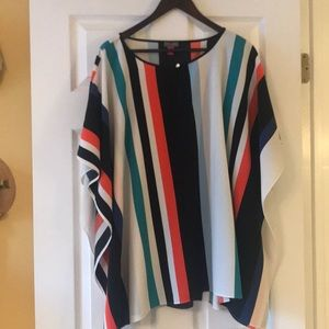 Vince Camuto wing sleeve top
